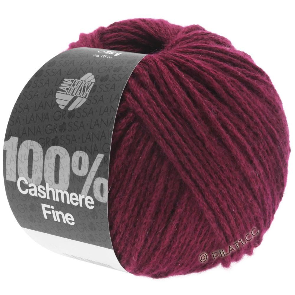 Lana Grossa 100% Cashmere Fine | 24-burgundy