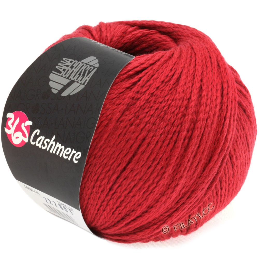 Lana Grossa 365 CASHMERE | 07-ruby red