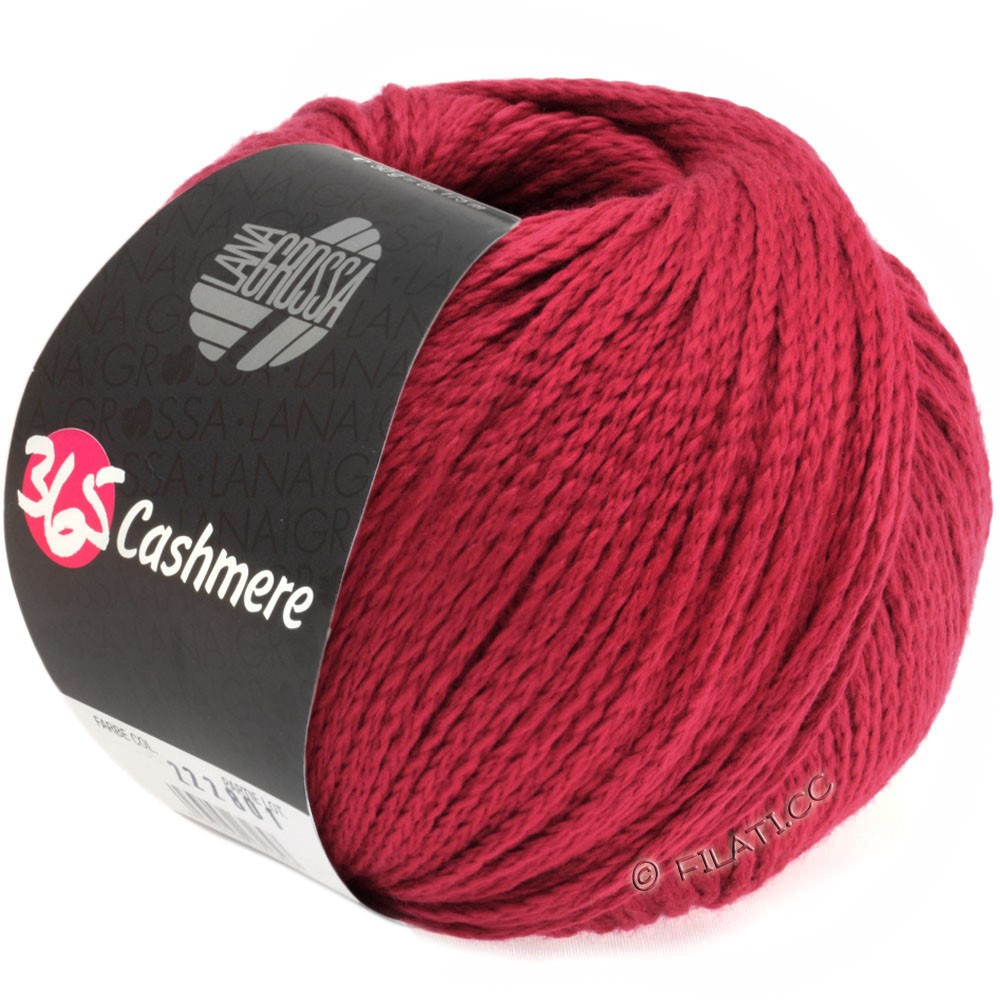 Lana Grossa 365 CASHMERE | 16-wine red