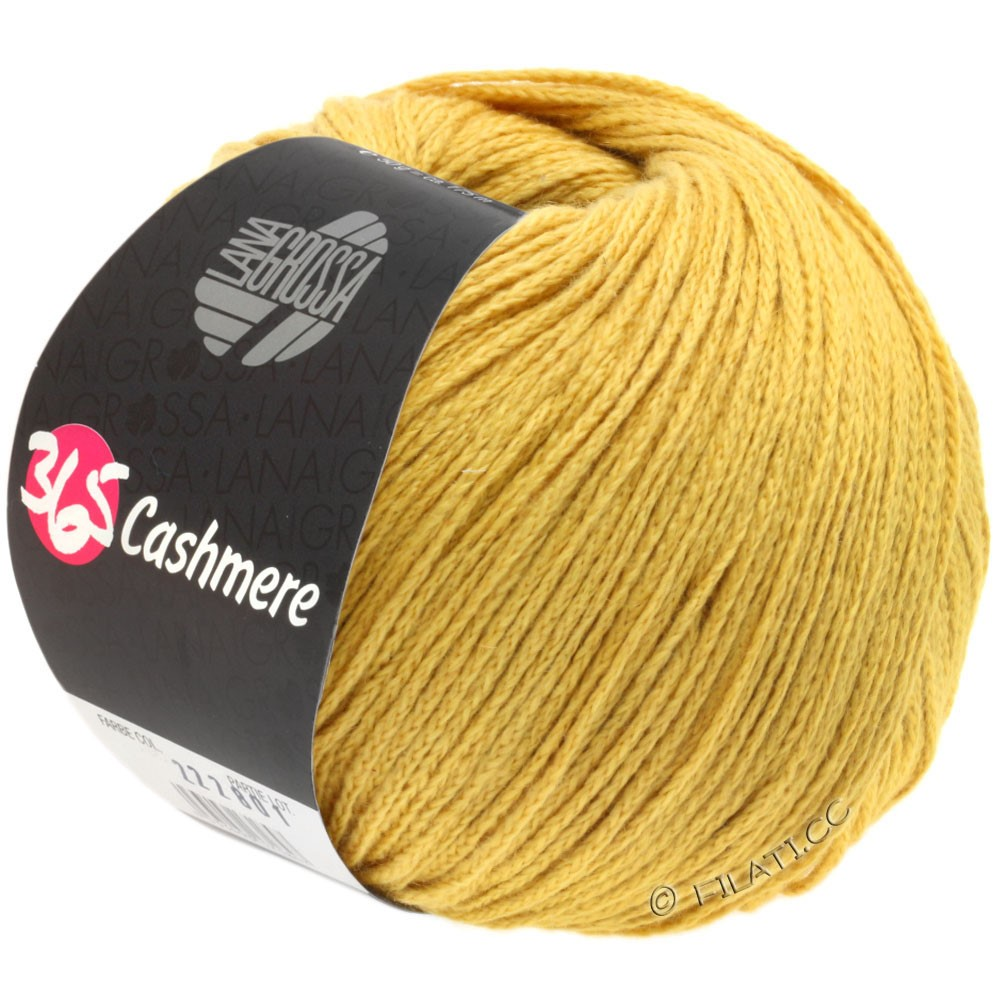 Lana Grossa 365 CASHMERE | 24-golden yellow