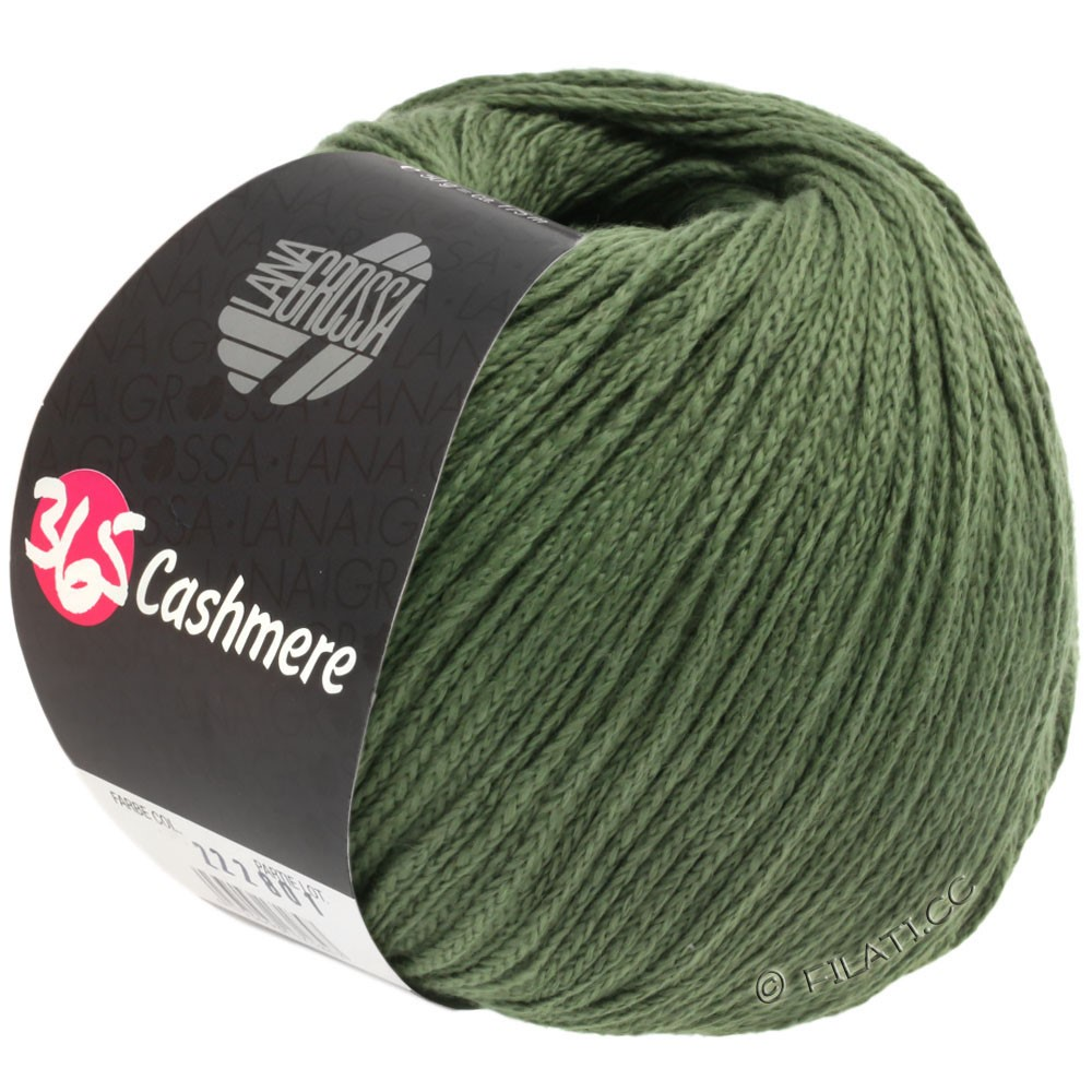 Lana Grossa 365 CASHMERE | 43-reseda green