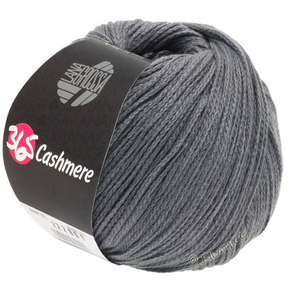 Lana Grossa 365 CASHMERE | 44-dark gray