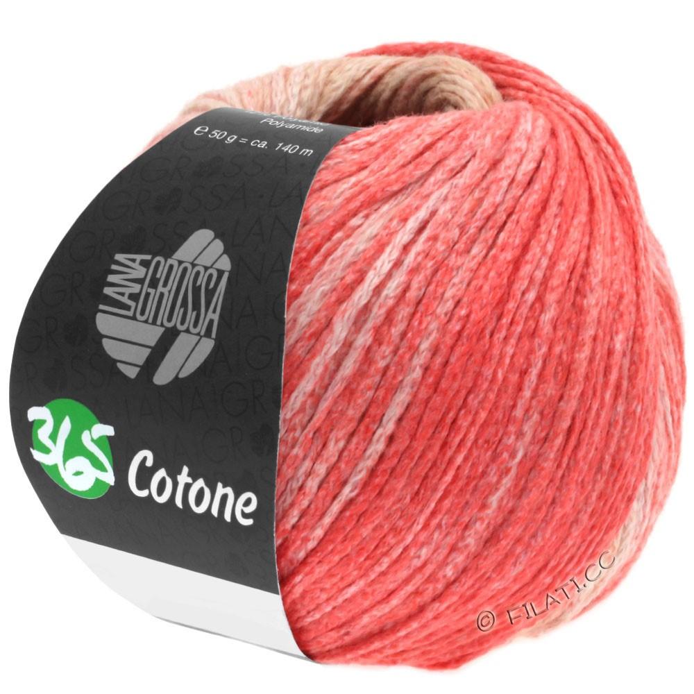 Lana Grossa 365 COTONE Degradé | 101-beige/camel/salmon pink/red
