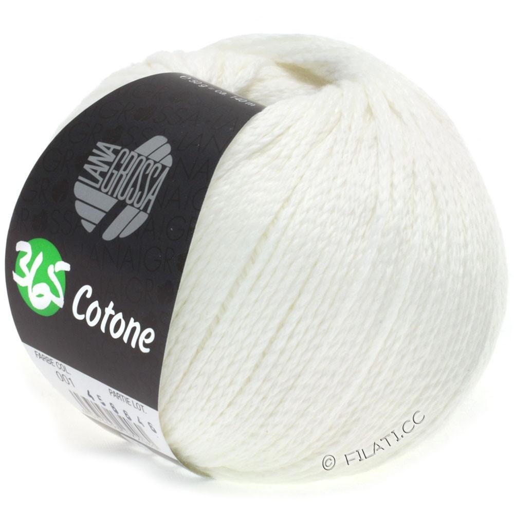 Lana Grossa 365 COTONE | 01-white