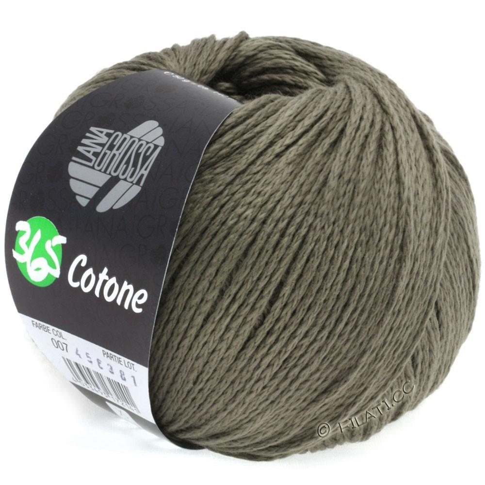 Lana Grossa 365 COTONE | 07-gray brown