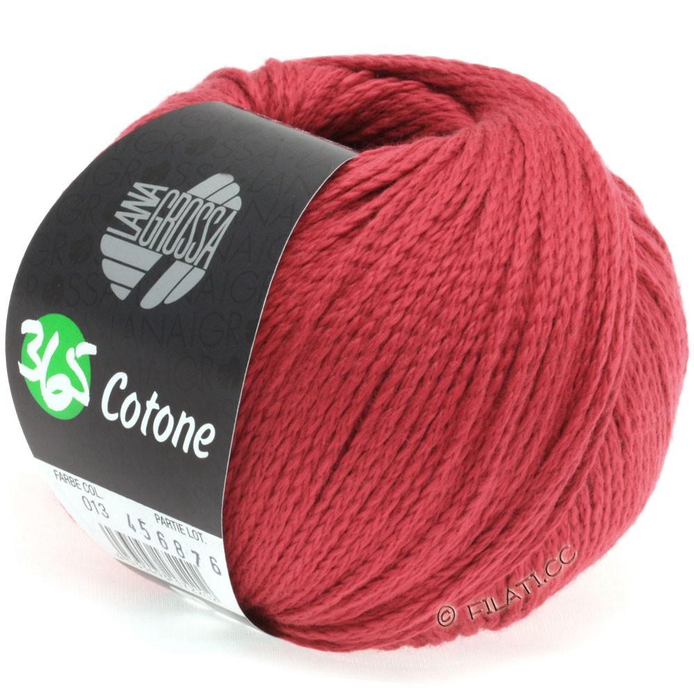 Lana Grossa 365 COTONE | 13-red