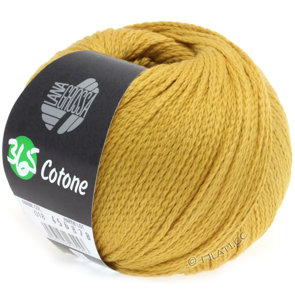 Lana Grossa 365 COTONE | 18-corn yellow