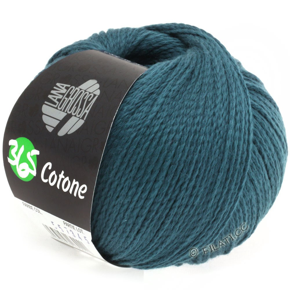 Lana Grossa 365 COTONE | 23-petrol blue