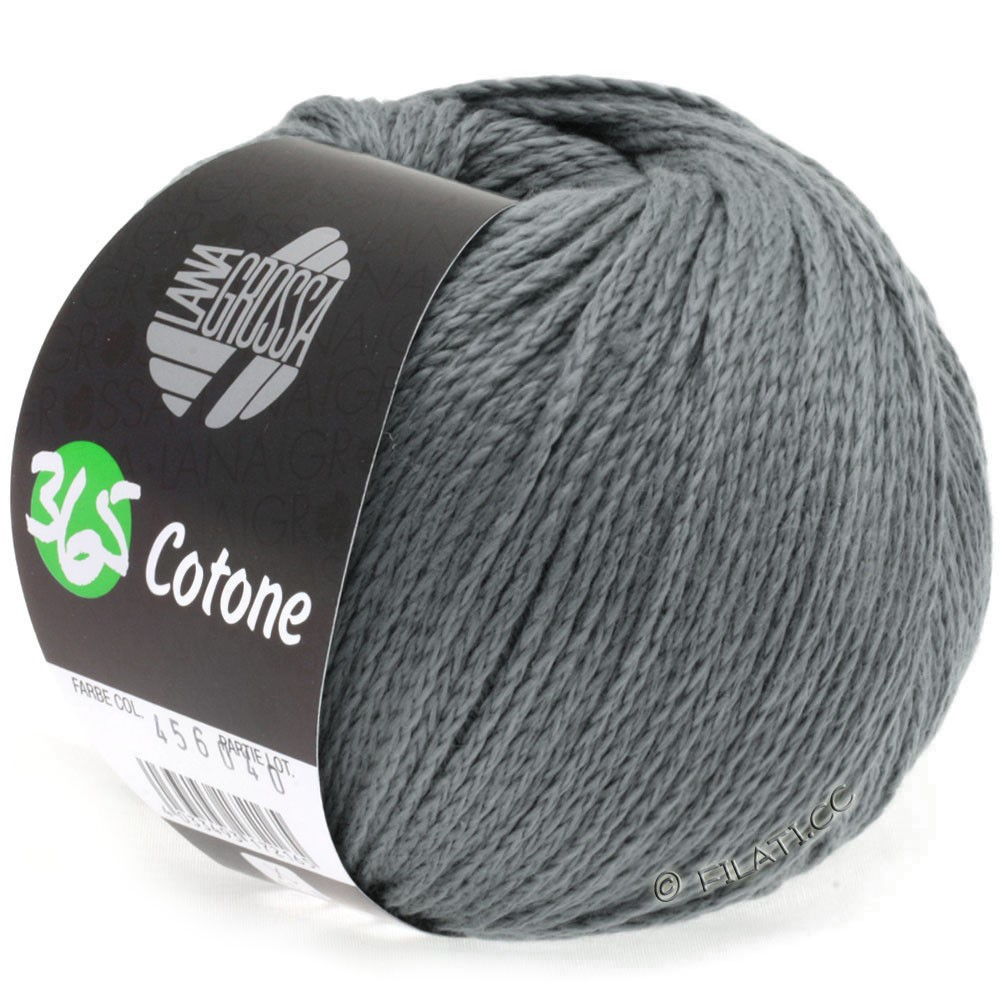 Lana Grossa 365 COTONE | 24-steel gray