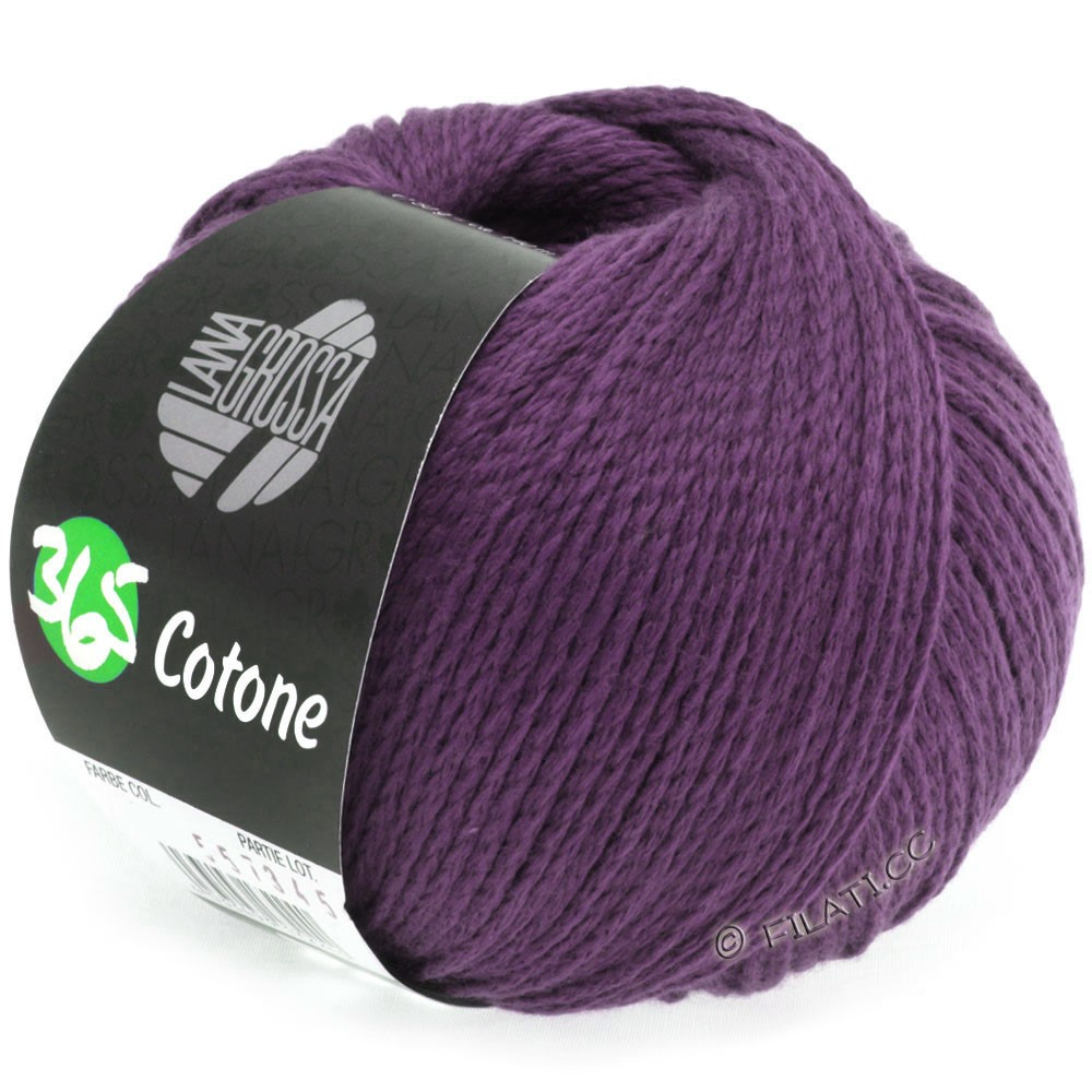 Lana Grossa 365 COTONE | 29-blackberry