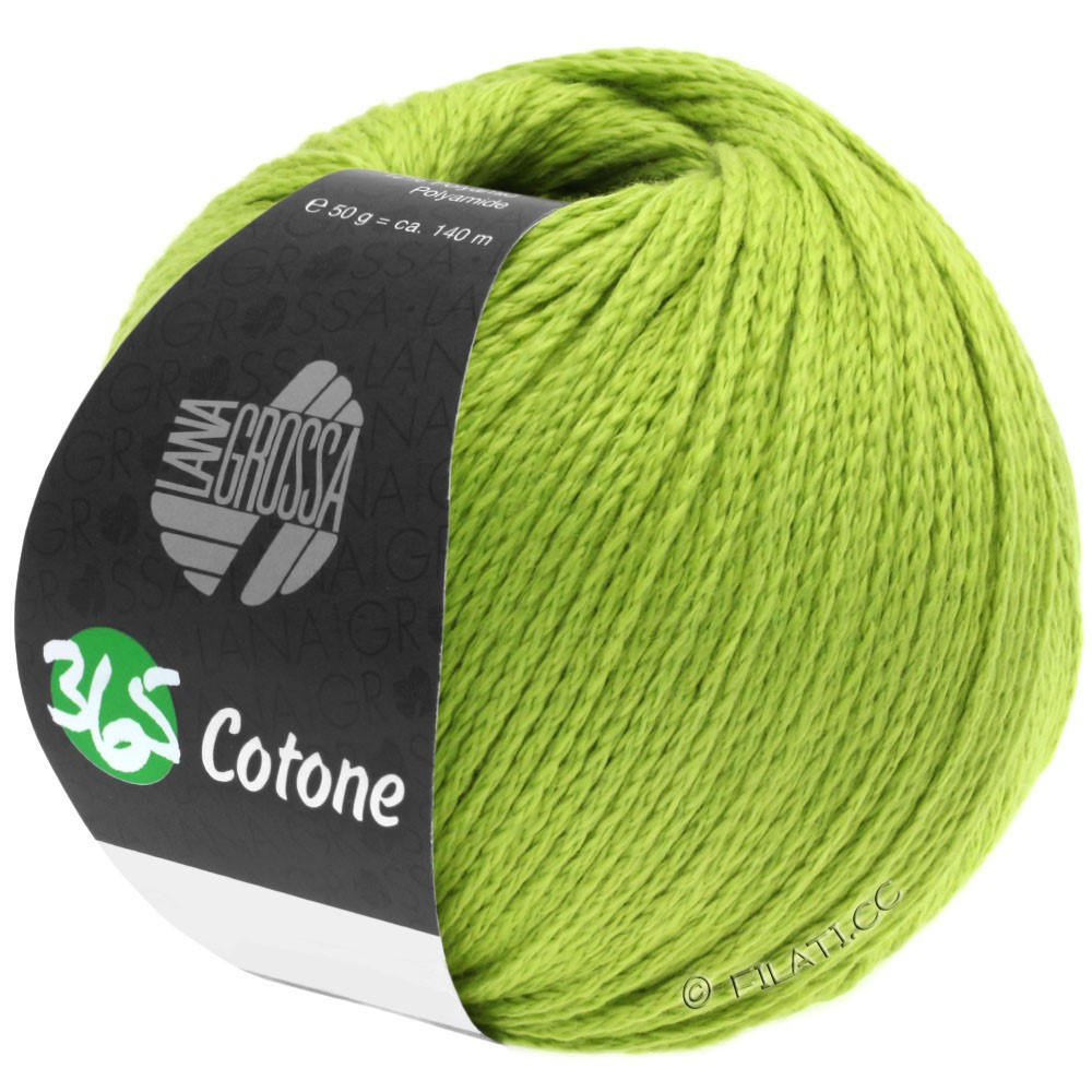 Lana Grossa 365 COTONE | 38-yellow green