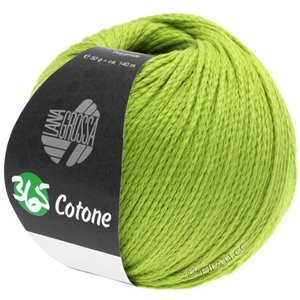 Lana Grossa 365 COTONE | 38-yellow green