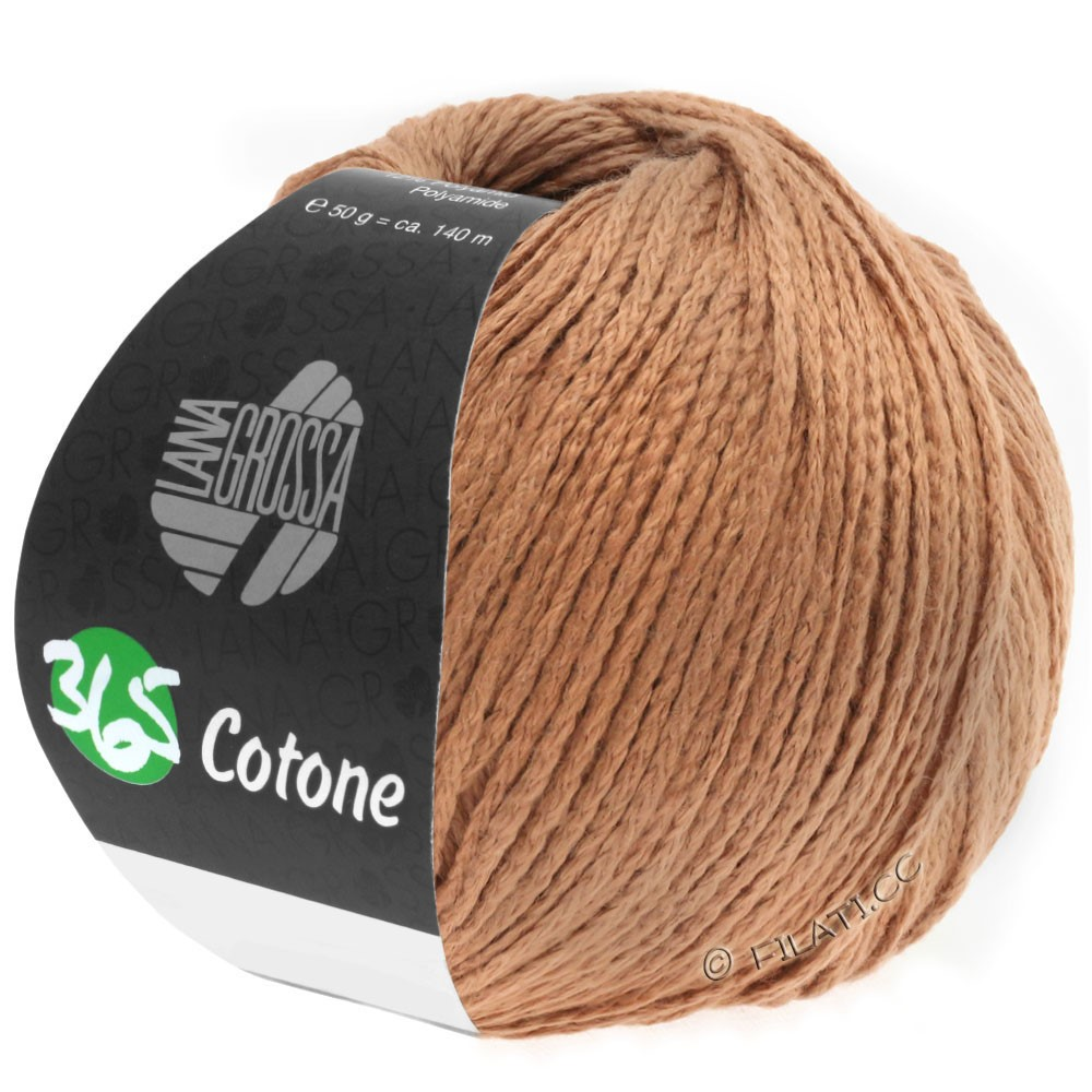 Lana Grossa 365 COTONE | 43-caramel