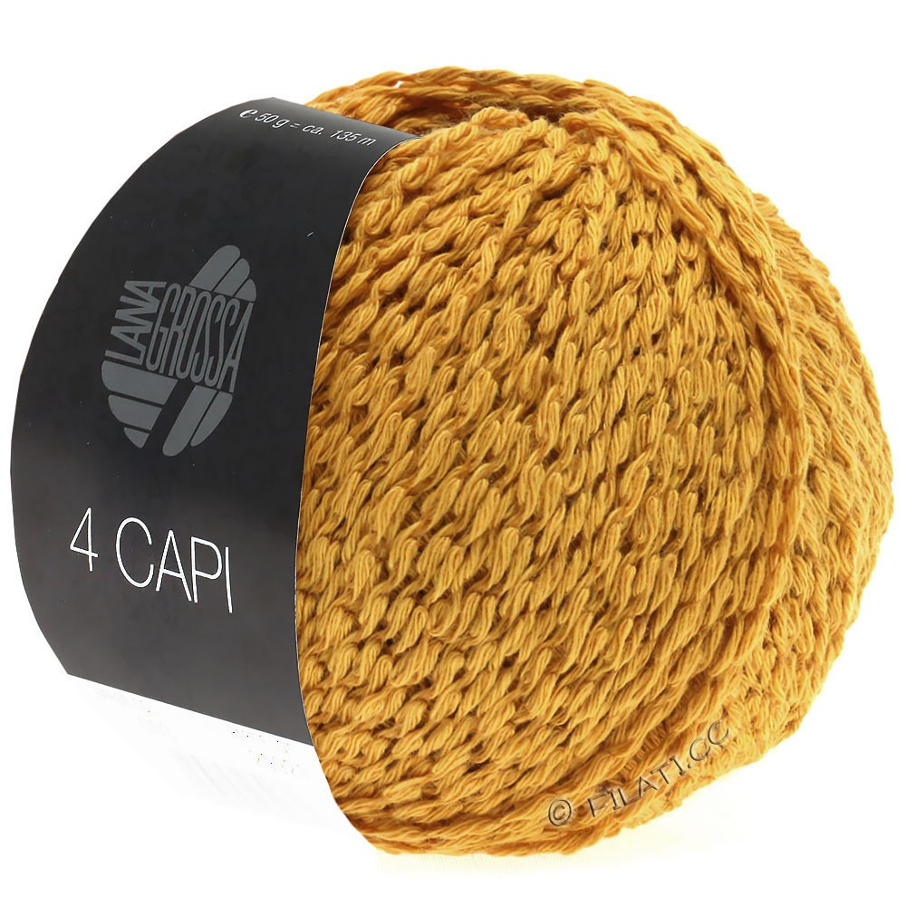 Lana Grossa 4 CAPI | 02-sun yellow