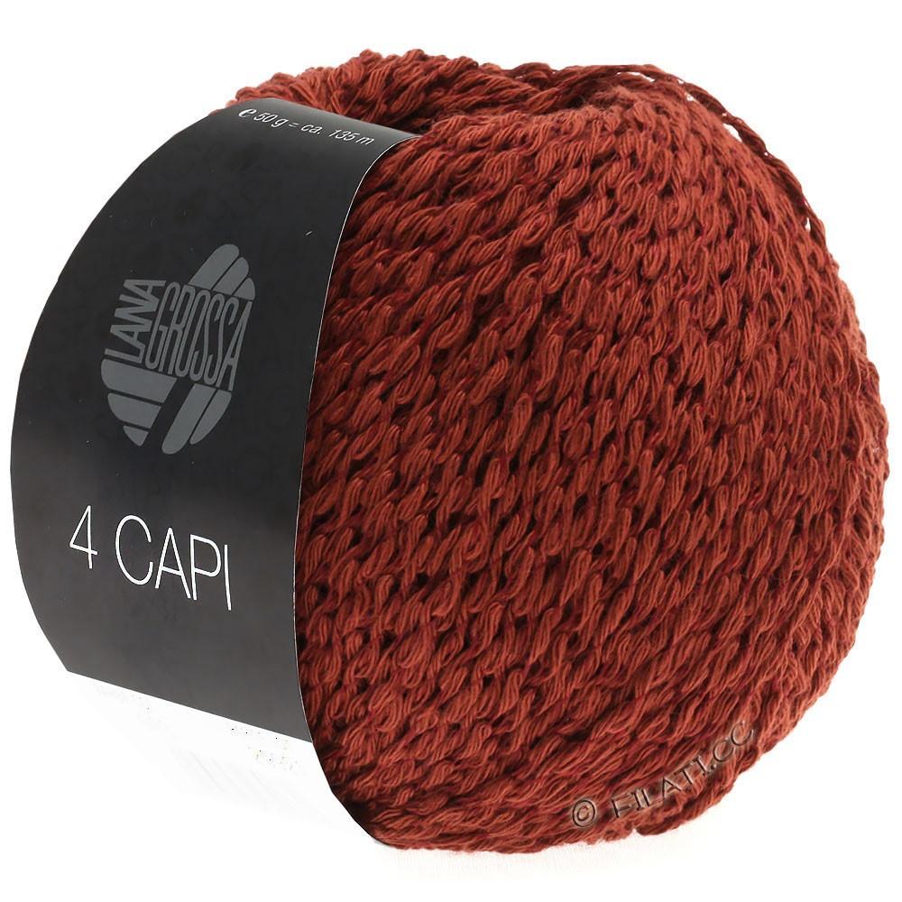 Lana Grossa 4 CAPI | 03-red brown