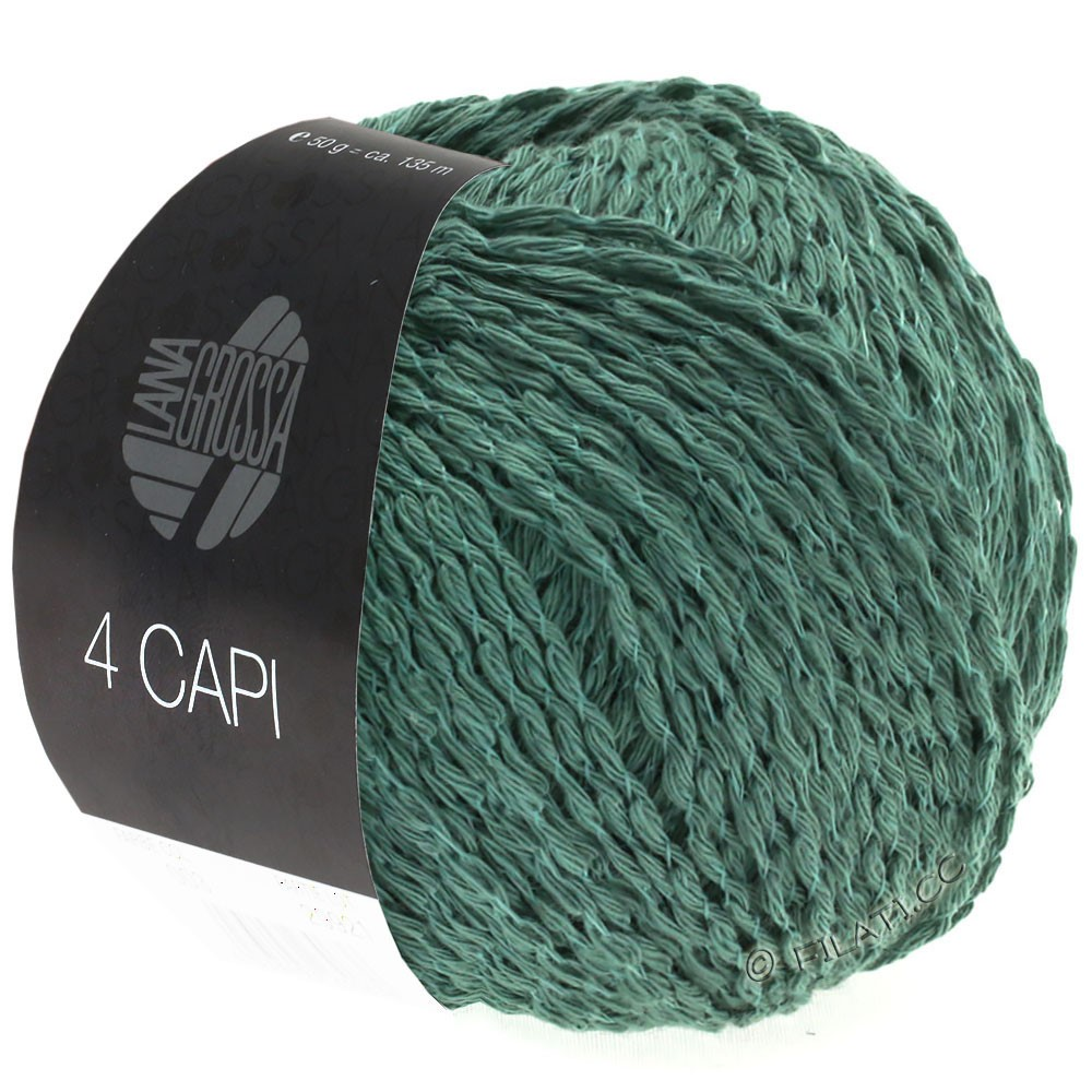 Lana Grossa 4 CAPI | 05-jade green