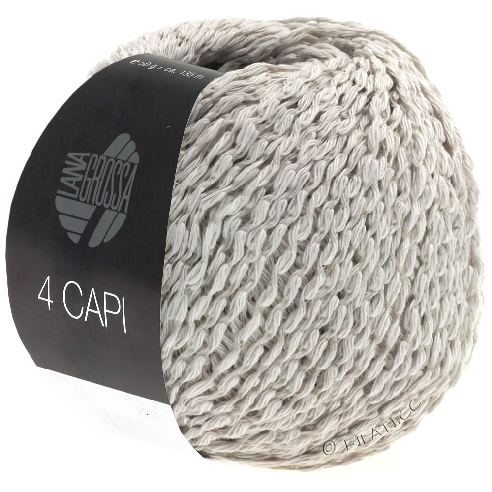 Lana Grossa 4 CAPI | 09-subtle gray
