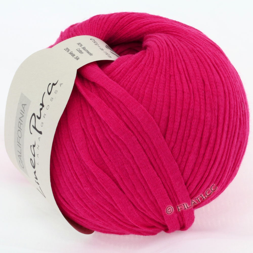 Lana Grossa CALIFORNIA Uni/Print (Linea Pura) | 004-pink