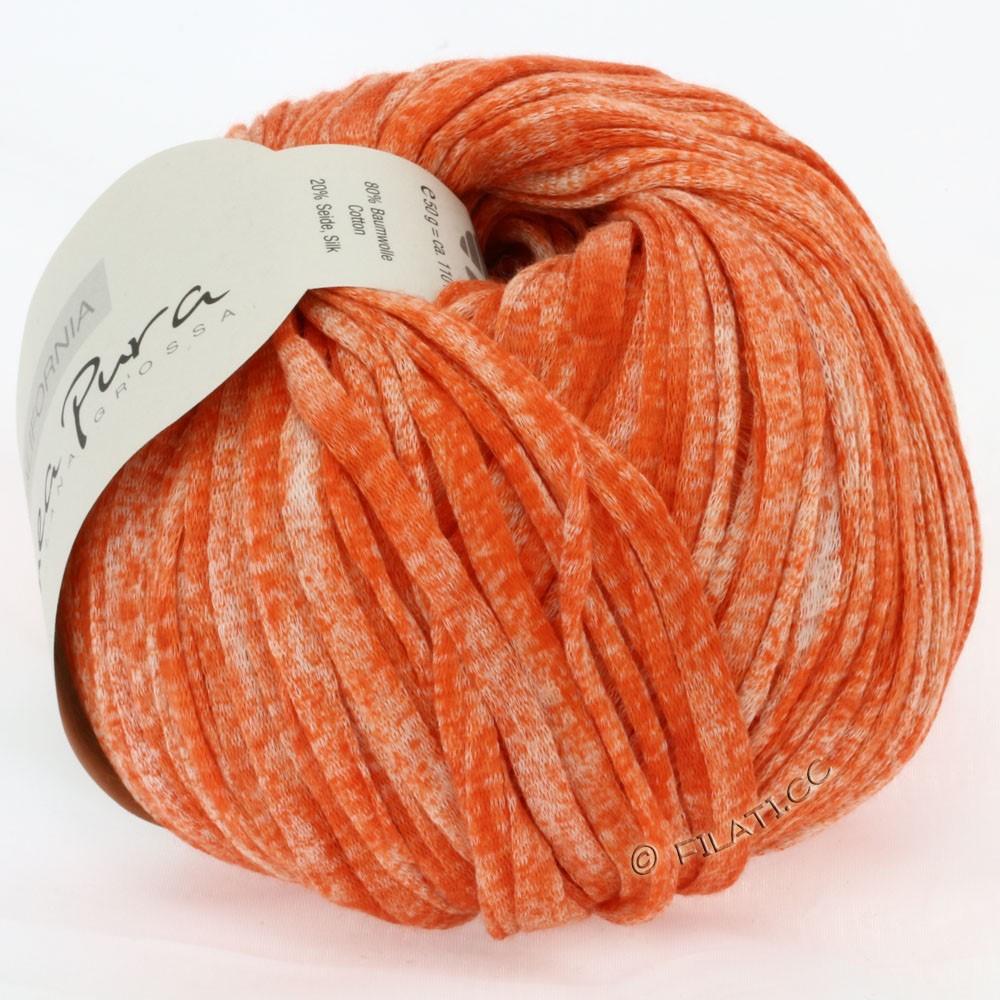 Lana Grossa CALIFORNIA Uni/Print (Linea Pura) | 204-coral mottled