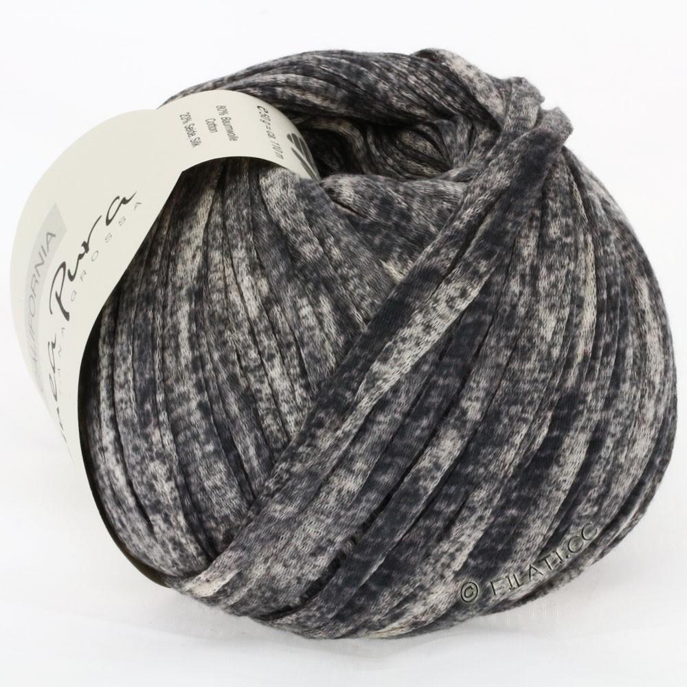 Lana Grossa CALIFORNIA Uni/Print (Linea Pura) | 207-anthracite mottled