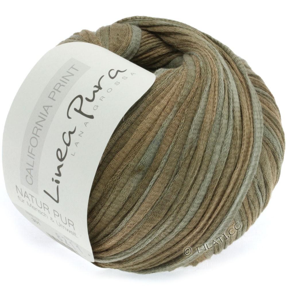 Lana Grossa CALIFORNIA Uni/Print (Linea Pura) | 301-khaki/taupe