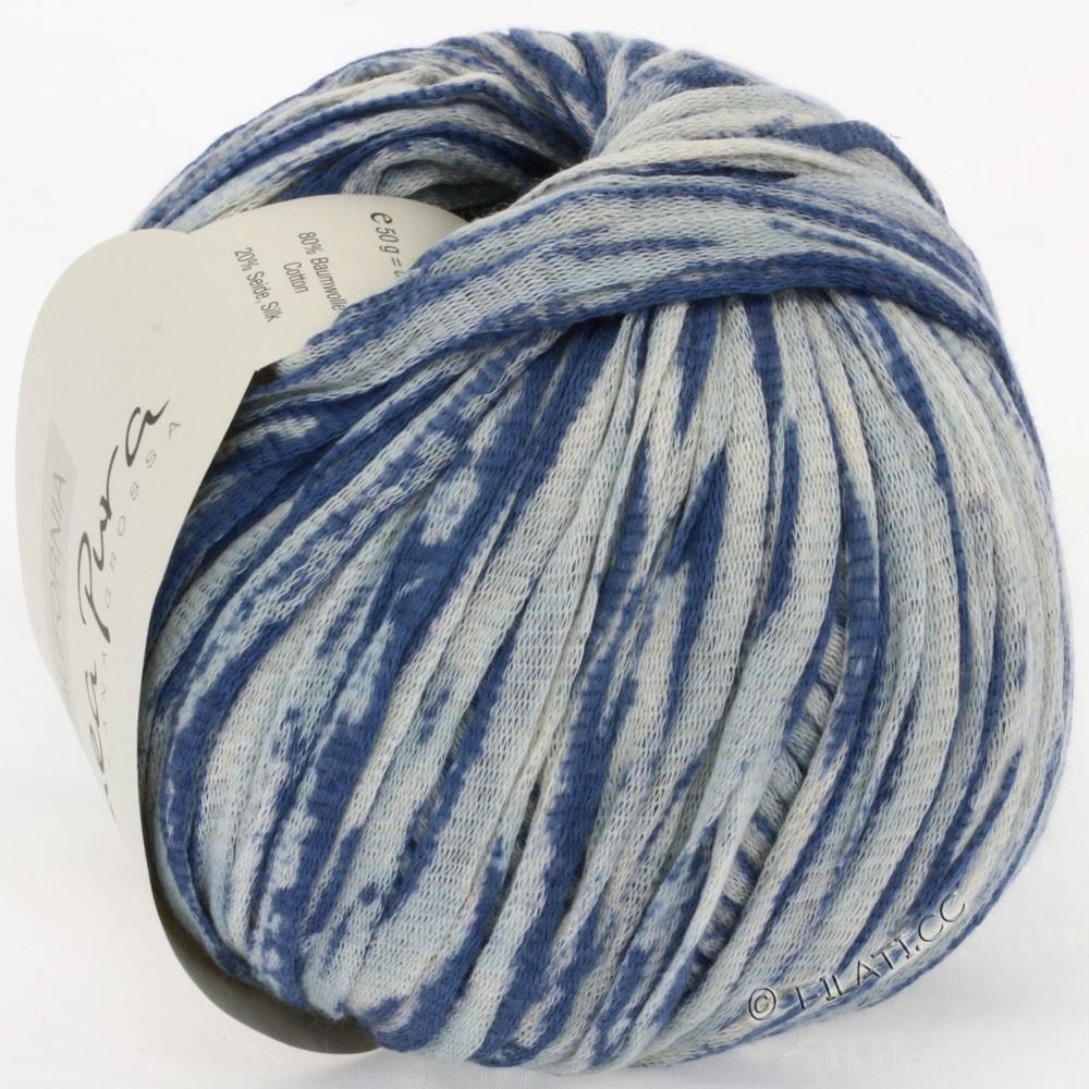 Lana Grossa CALIFORNIA Uni/Print (Linea Pura) | 408-jeans/natural