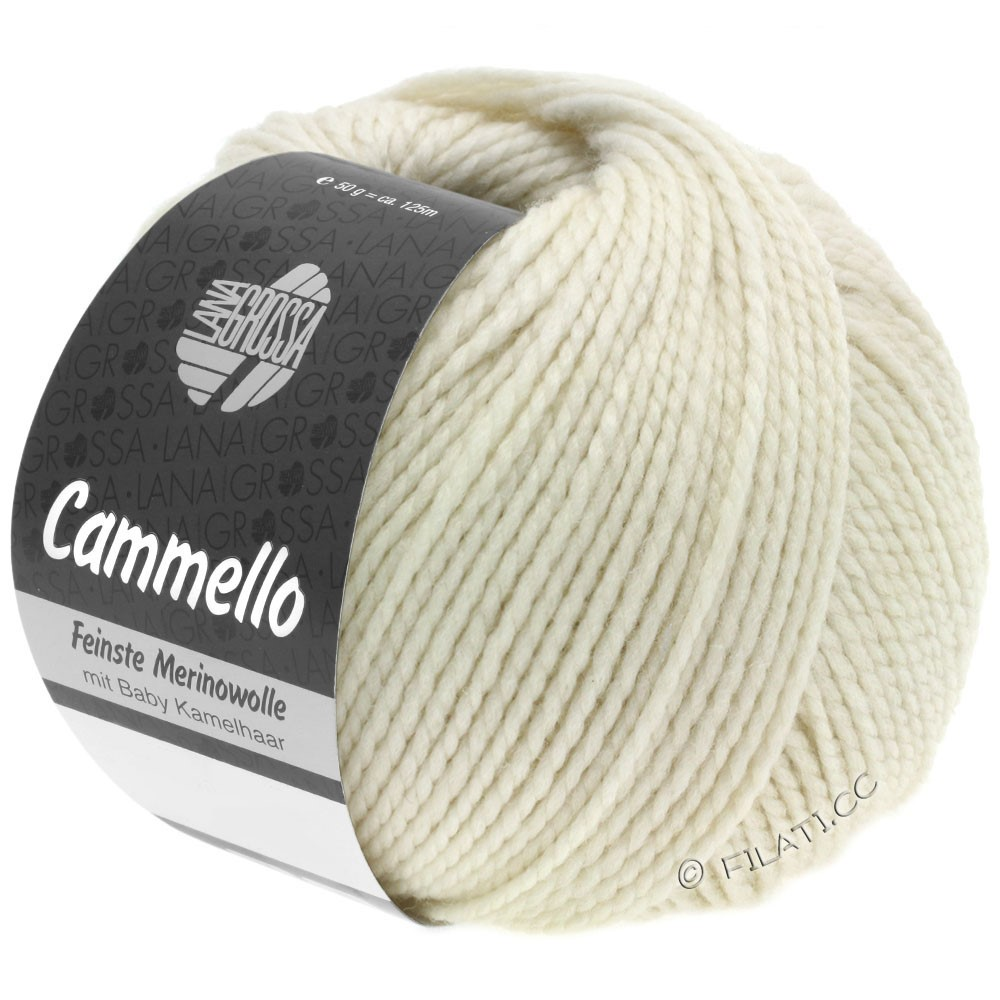 Lana Grossa CAMMELLO | 01-white