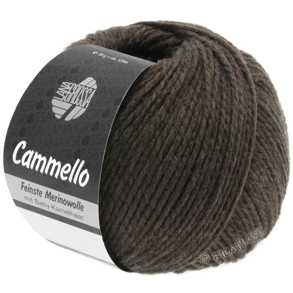 Lana Grossa CAMMELLO | 07-black brown