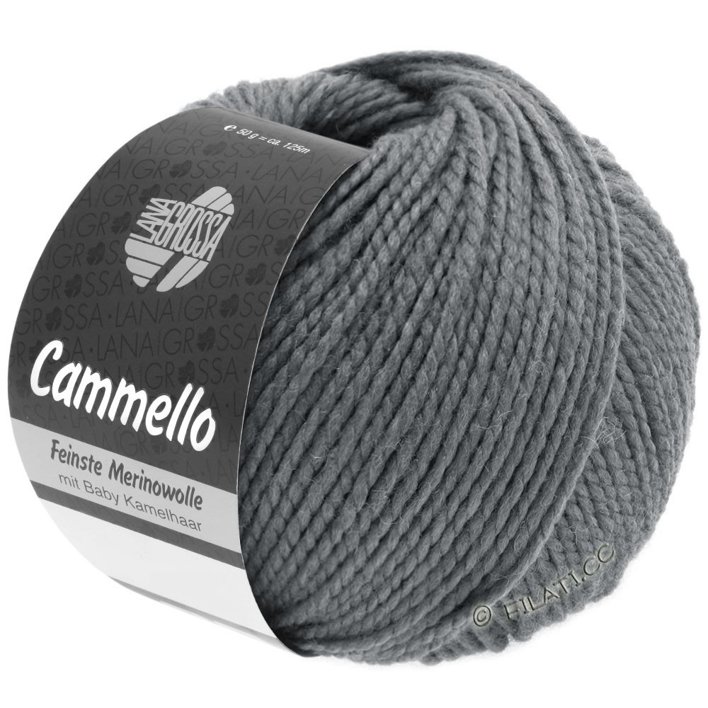 Lana Grossa CAMMELLO | 15-dark gray