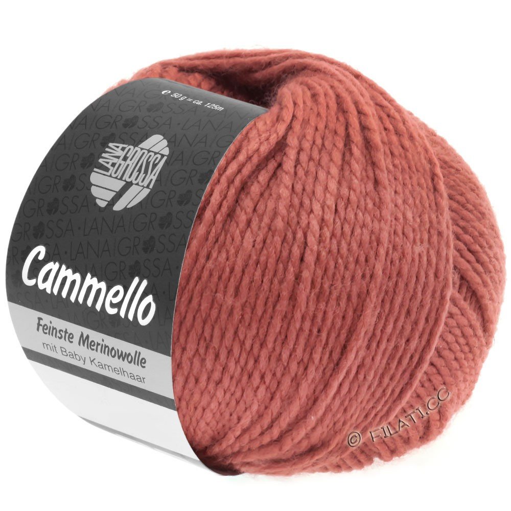 Lana Grossa CAMMELLO | 17-clay red
