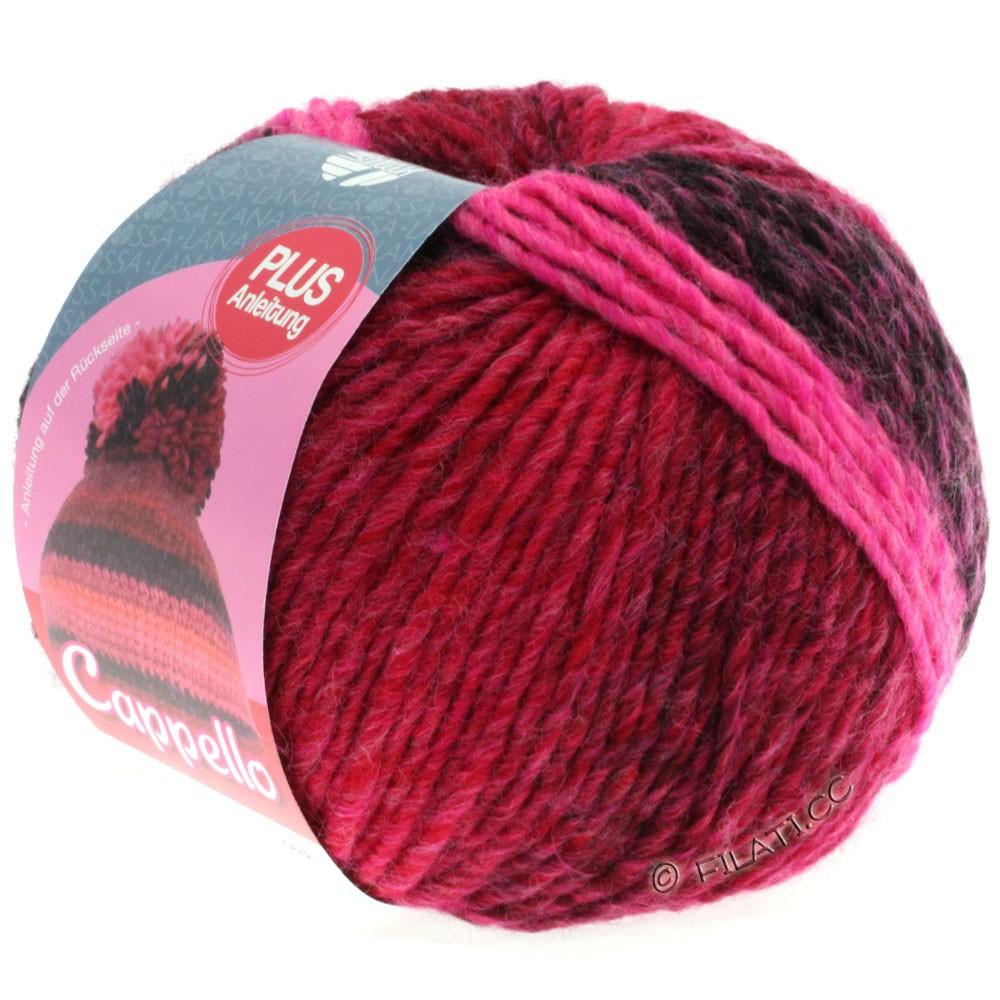 Lana Grossa CAPPELLO | 001-pink/raspberry/red/bordeaux/aubergine