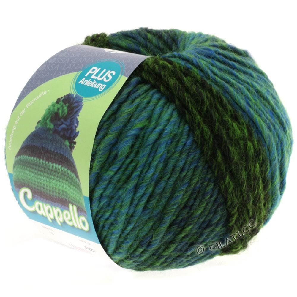 Lana Grossa CAPPELLO | 003-light green/dark green/blue/black