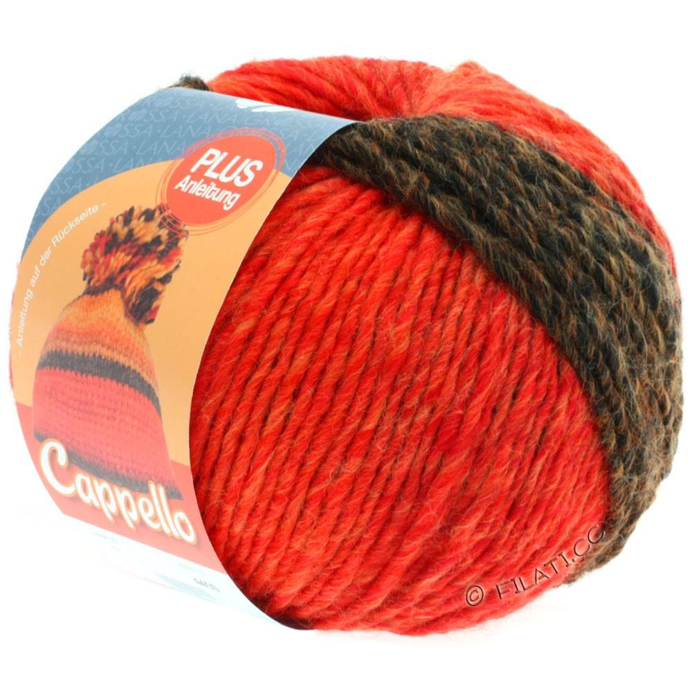 Lana Grossa CAPPELLO | 007-mocha/orange/red/cinnamon