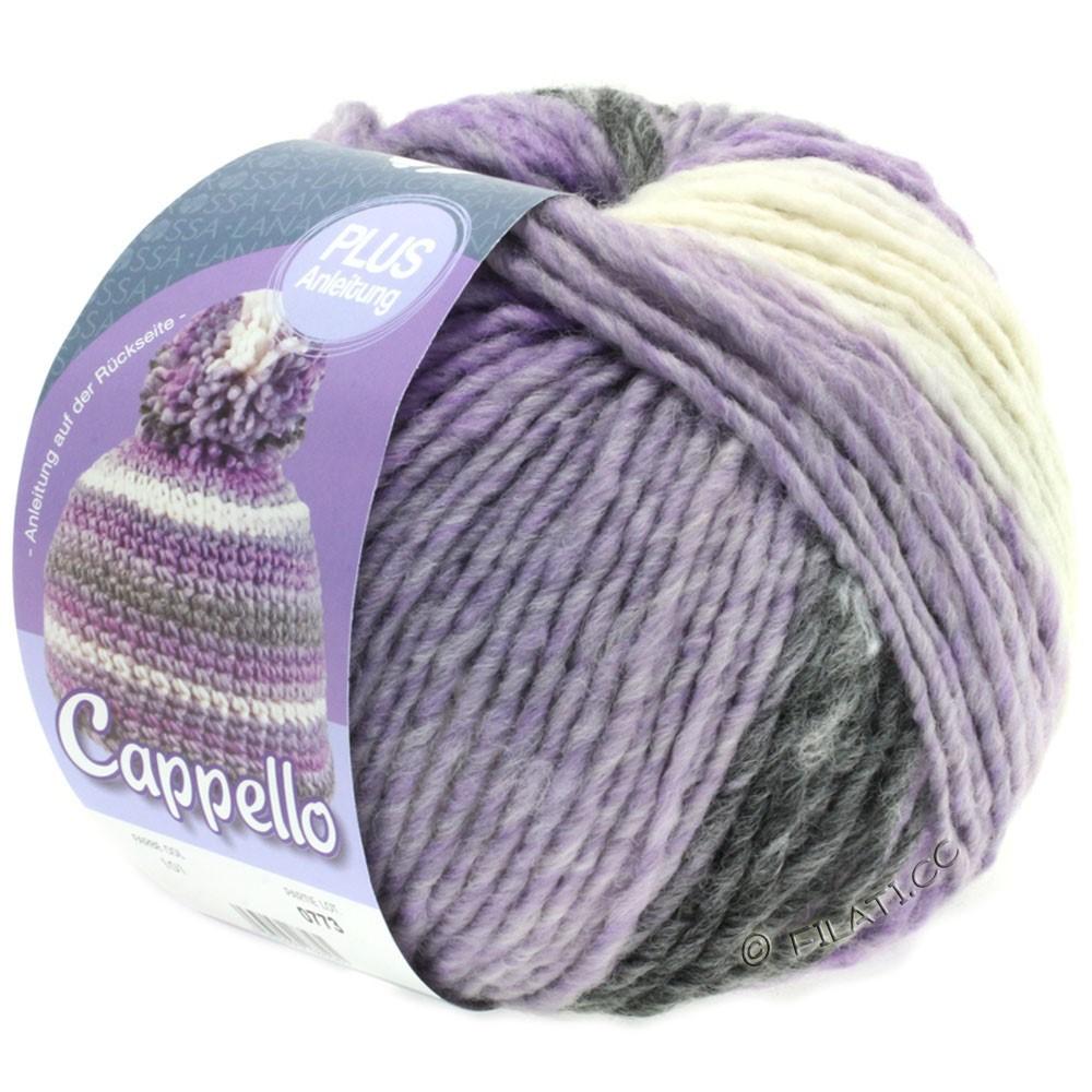 Lana Grossa CAPPELLO | 101-lilac/white/anthracite mix