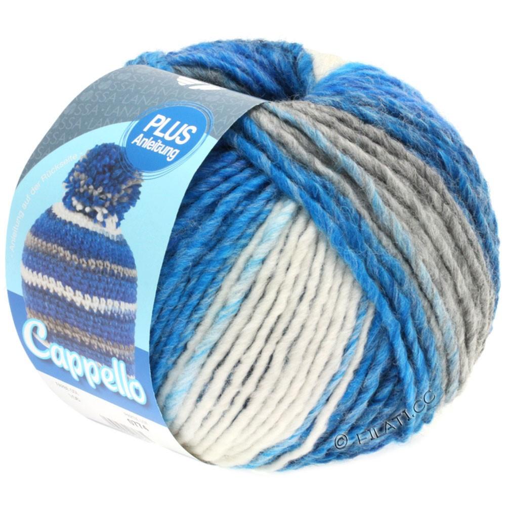 Lana Grossa CAPPELLO | 106-light blue/gray/white/blue mottled
