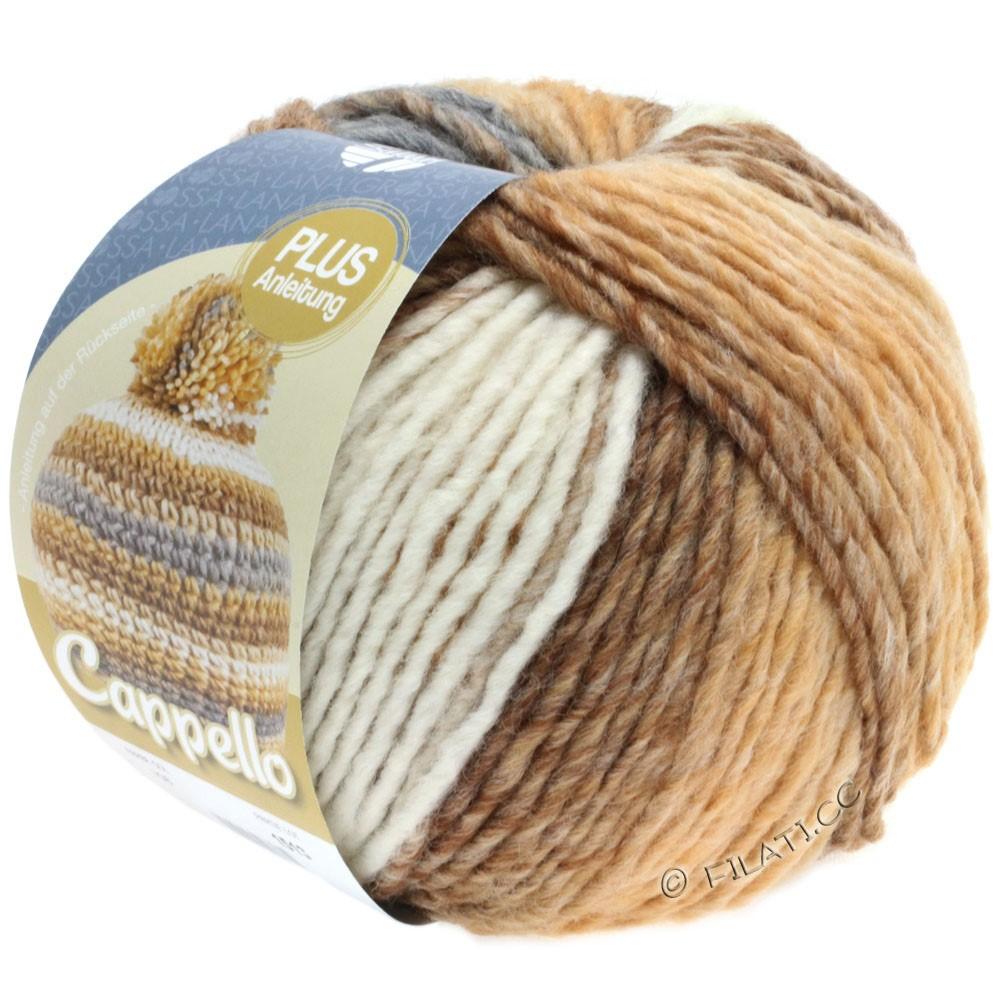 Lana Grossa CAPPELLO | 108-sand/camel/white/gray mottled