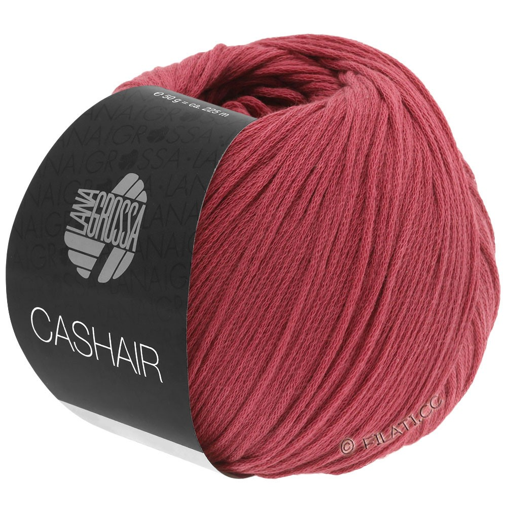 Lana Grossa CASHAIR | 04-marsala red