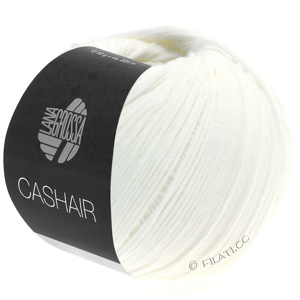 Lana Grossa CASHAIR | 16-white