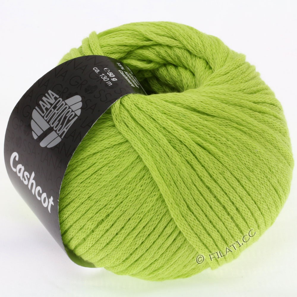 Lana Grossa CASHCOT | 04-light green/nature