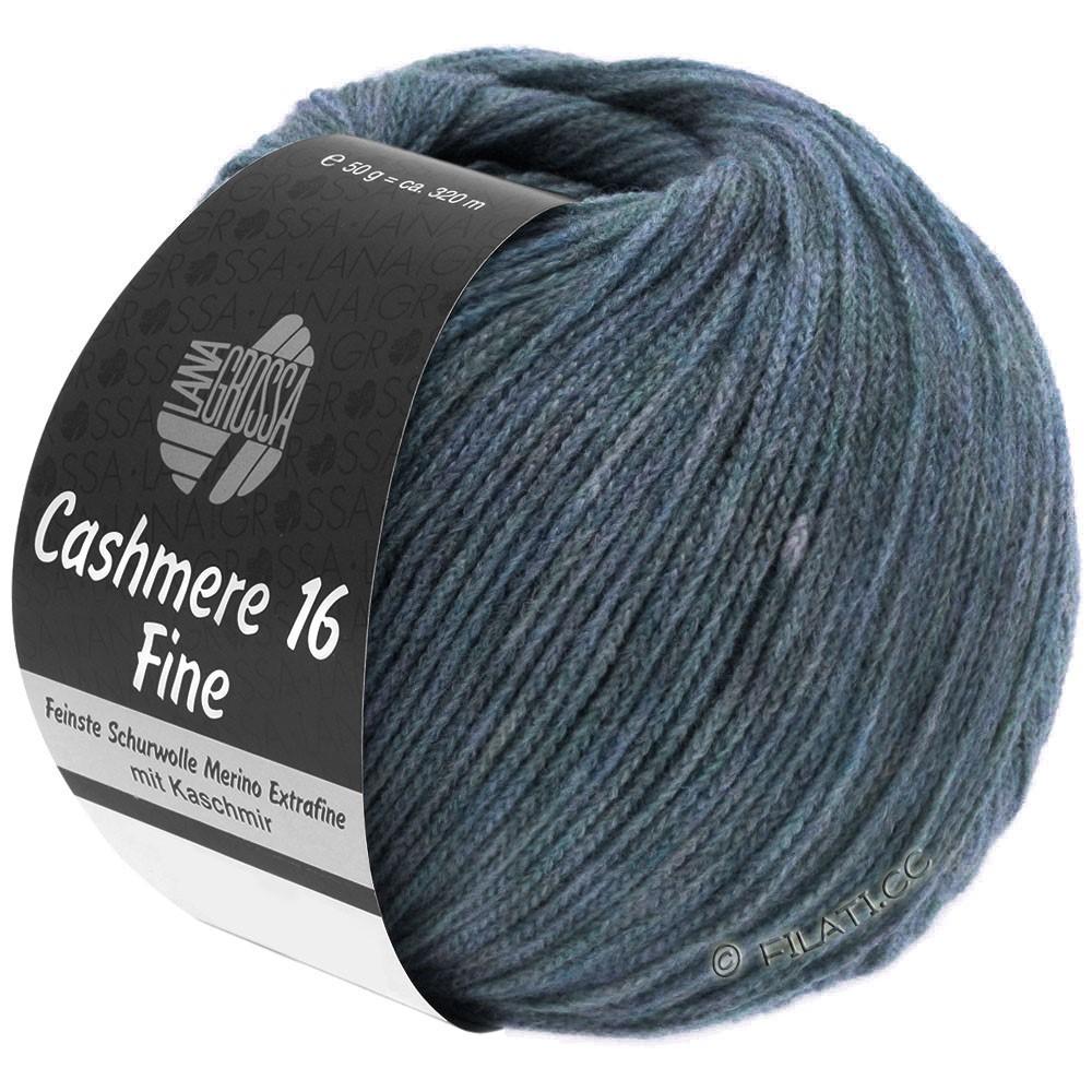 Lana Grossa CASHMERE 16 FINE Uni/Degradè | 005-gray blue