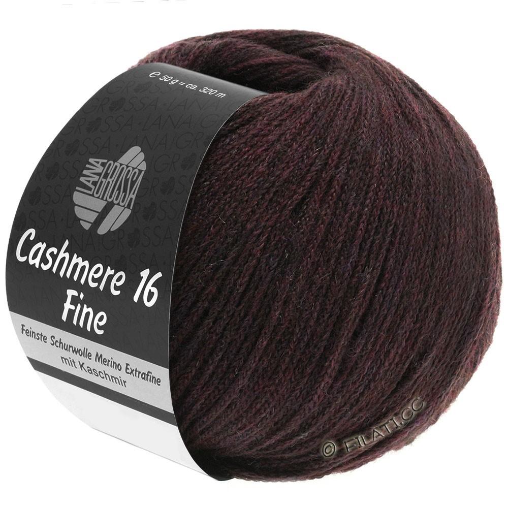 Lana Grossa CASHMERE 16 FINE Uni/Degradè | 010-red brown