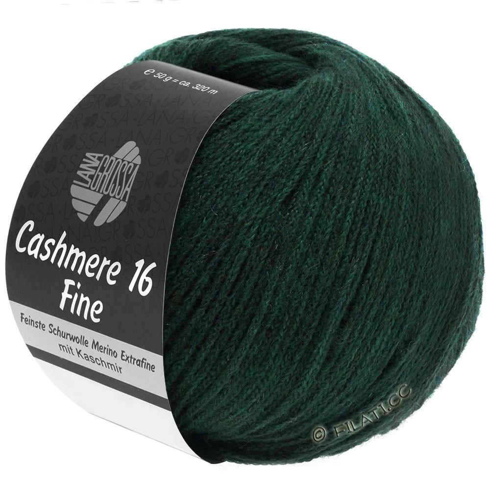 Lana Grossa CASHMERE 16 FINE Uni/Degradè | 014-black green