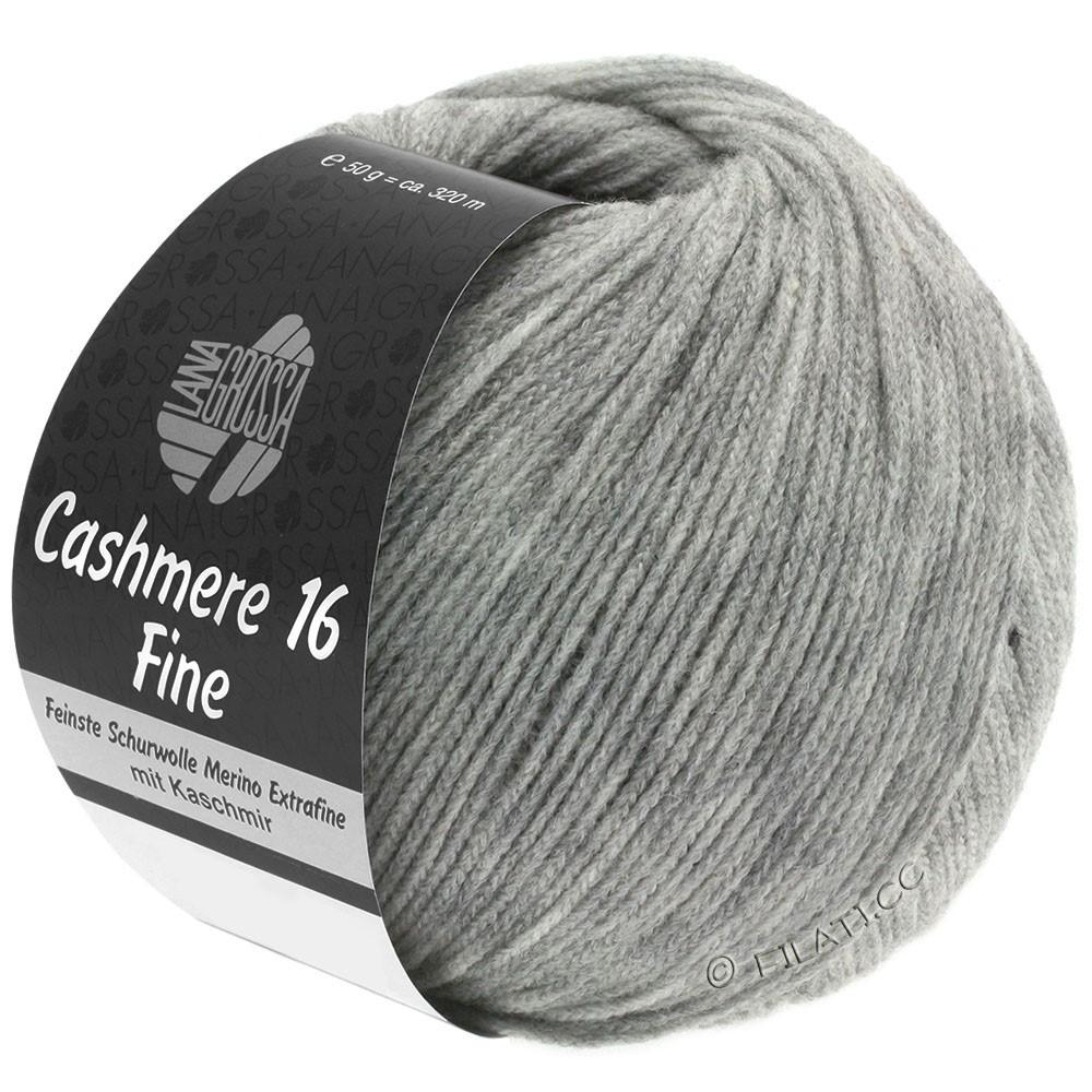 Lana Grossa CASHMERE 16 FINE Uni/Degradè | 015-light gray