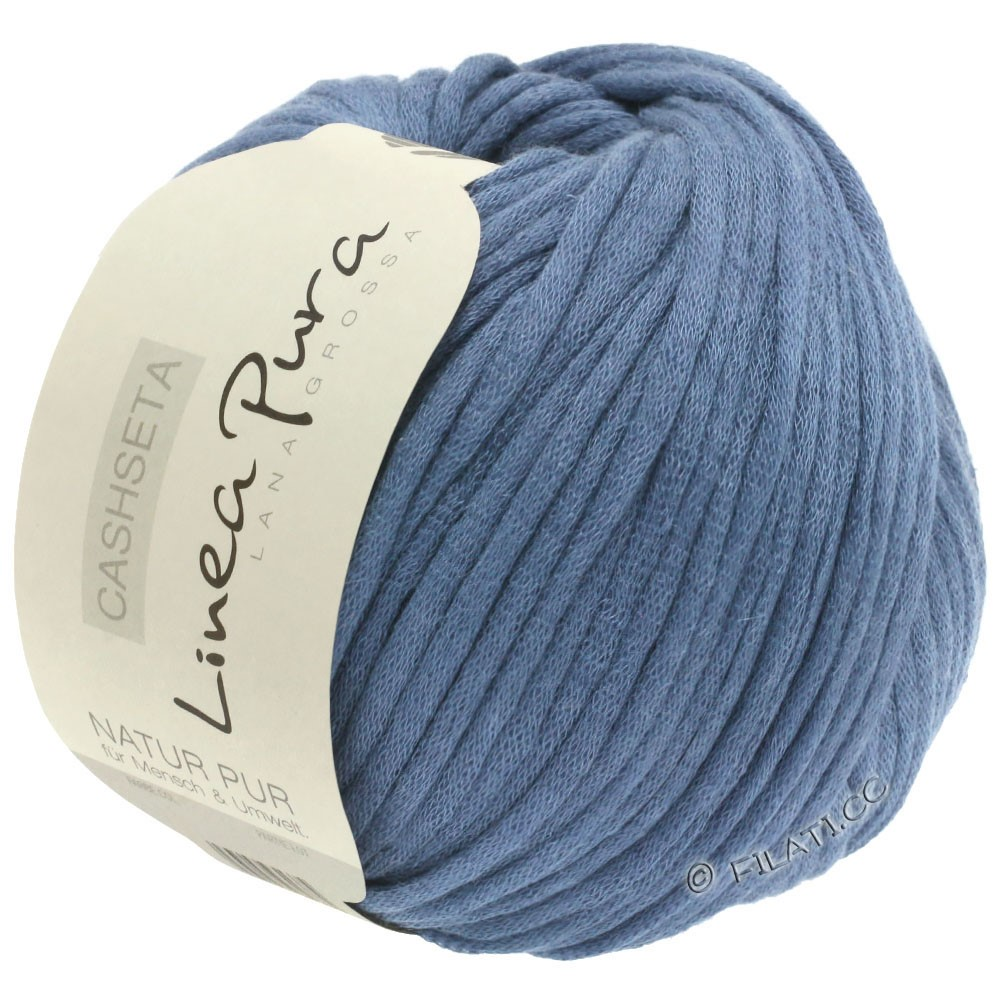 Lana Grossa CASHSETA (Linea Pura) | 11-jeans blue