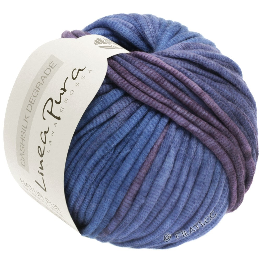 Lana Grossa CASHSILK Degradè (Linea Pura) | 101-plum/violet blue/lavender