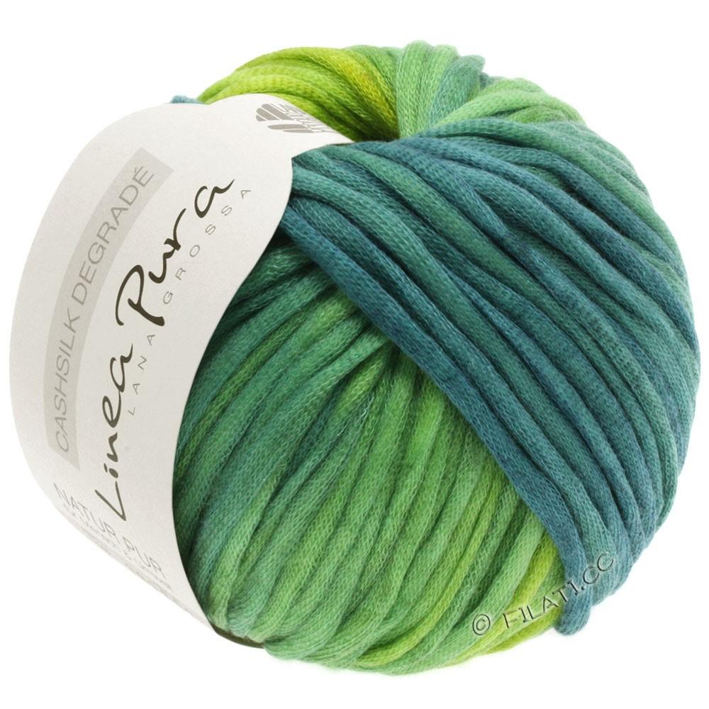 Lana Grossa CASHSILK Degradé (Linea Pura) | 106-yellow green/mint turquoise/petrol