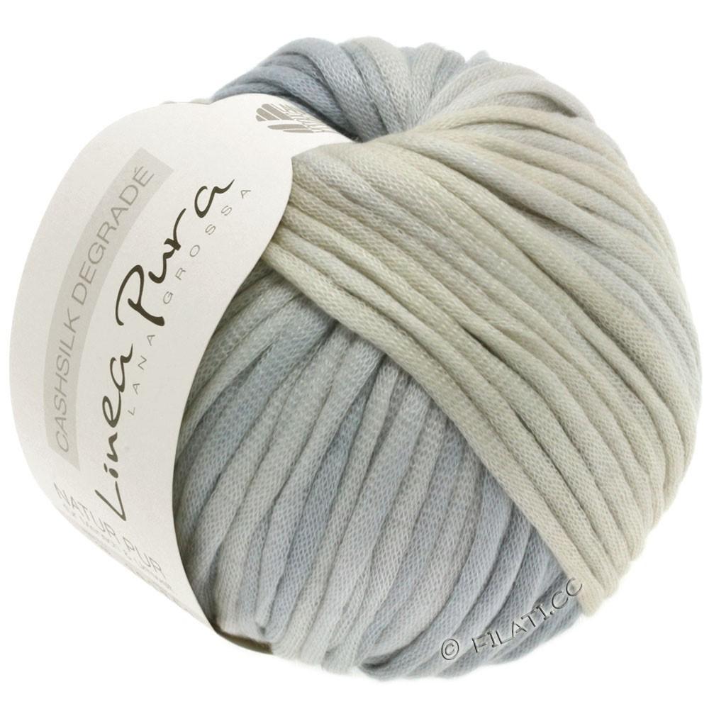 Lana Grossa CASHSILK Degradé (Linea Pura) | 107-natural/grège/silver gray/light gray