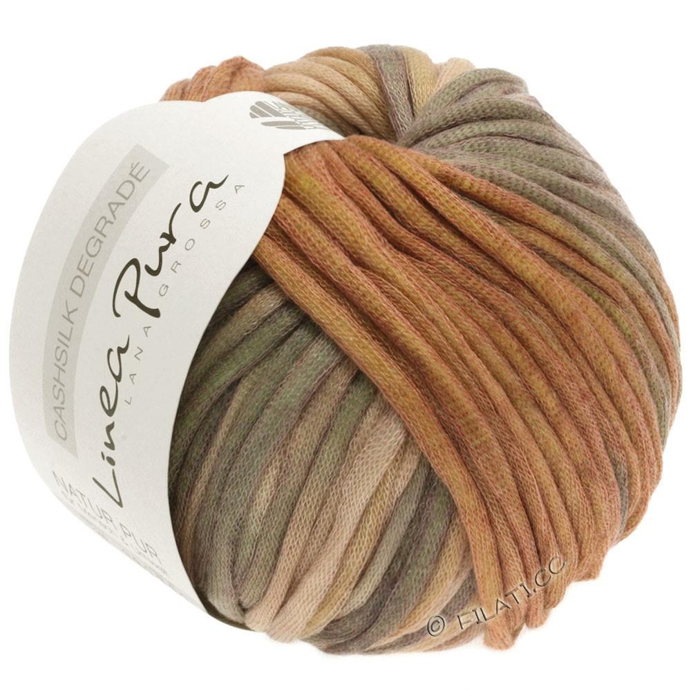 Lana Grossa CASHSILK Degradé (Linea Pura) | 108-sand/camel/cinnamon/khaki