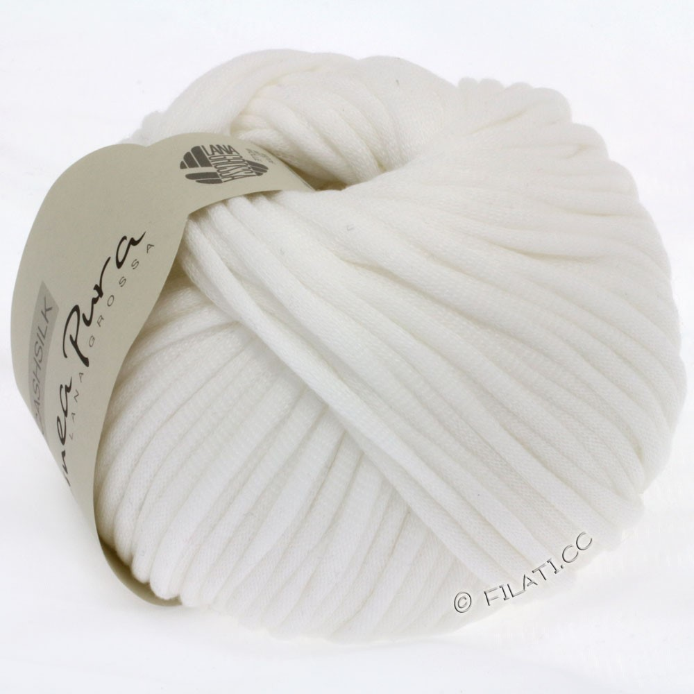 Lana Grossa CASHSILK (Linea Pura) | 07-white