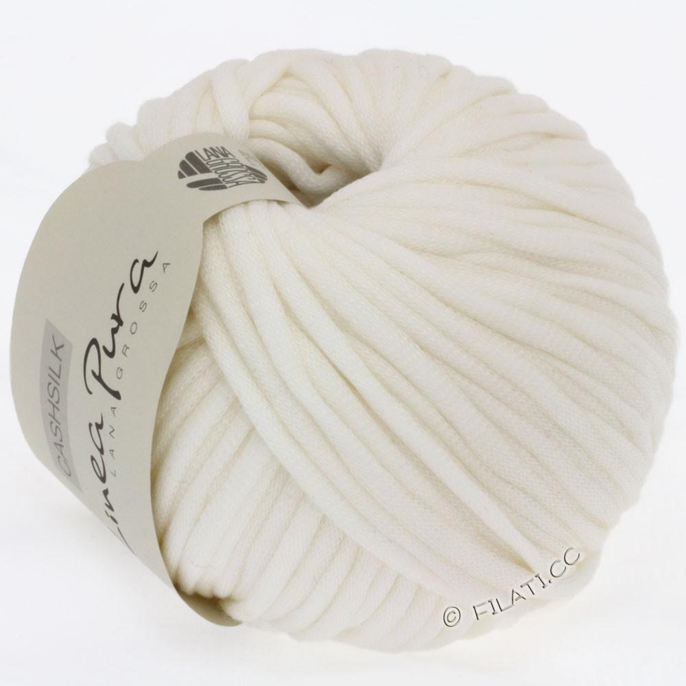 Lana Grossa CASHSILK (Linea Pura) | 08-raw white